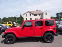 CARFAX One-Owner. Clean CARFAX. Red 2015 Jeep Wrangler
