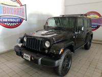 This 2015 Jeep Wrangler Unlimited Sahara was