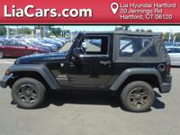 2015 Jeep Wrangler in Blue. SoftTop! 4 Wheel Drive!