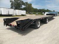 2015 Jet Trailers 53x102 Steel Drop w/ Beavertail
