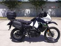 I currently have a used 2015 Kawasaki KLR 650 for