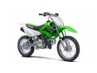 Riders will certainly be delighted with the KLX110s