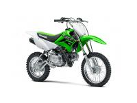 In this case taller is better. the KLX110L motorbike