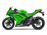 In the case of the brand new Ninja 300 it indicates a