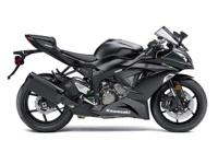 2015 Kawasaki Ninja Zx 636-R in black for sale. This is