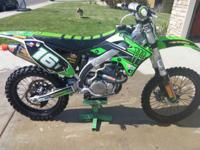 Selling my 2015 KX450F Getting out of the sport trying