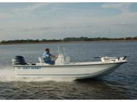 2015 Key West 197 SK ROOMY SKIFF WITH A GREAT RIDE You