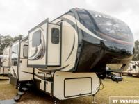 The 2015 Keystone Alpine is a luxurious RV that is