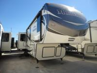 Providing huge triple slides this brand-new fifth wheel