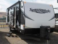 2015 Keystone Springdale 267BHSE. New 26 Travel