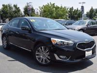 CARFAX One-Owner. Clean CARFAX. Black 2015 Kia Cadenza