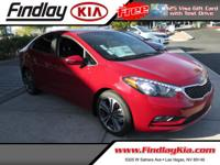 CARFAX One-Owner. Clean CARFAX. Certified. Red 2015 Kia
