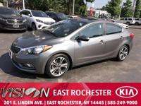 CARFAX One-Owner. Clean CARFAX. Graphite Steel 2015 Kia