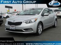 Come see this certified 2015 Kia Forte EX. Its