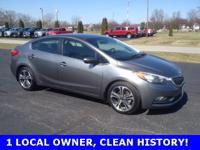 2015 Kia Forte EX Graphite Steel Priced below KBB Fair