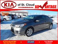 Options:  2015 Kia Forte Koup Ex|Ex 2Dr Coupe 6A|2.0L|4