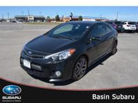 Our 2015 KIA Forte Koup SX presented in beautiful
