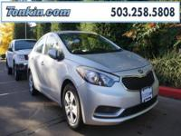 WOW!!! Check out this. 2015 Kia Forte LX Silver 1.8L I4