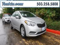 WOW!!! Check out this. 2015 Kia Forte LX Gray 1.8L I4
