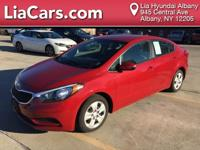 **ONE OWNER, CLEAN CARFAX** and SERVICED HERE. Forte