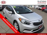 Come see this 2015 Kia Forte LX. Its Automatic