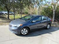 This 2015 Kia Forte 4dr LX features a 1.8L 4 CYLINDER