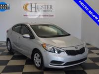 Options:  2015 Kia Forte Lx|Silver|Priced Below Kbb