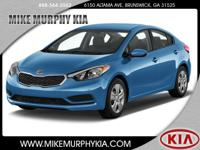 It doesn't get much better than this 2015 Kia Forte LX,