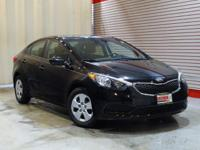 LOW MILES, This 2015 Kia Forte LX will sell fast