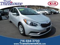 New Price! This 2015 Kia Forte LX in Graphite Steel