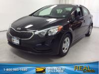 Aurora Black 2015 Kia Forte LX FWD 6-Speed Automatic