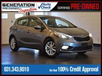 New Price! Certified. Graphite 2015 Kia Forte EX FWD