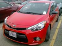 New Price! Certified. Red 2015 Kia Forte SX FWD 6-Speed