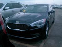 Certified. Black 2015 Kia K900 Luxury RWD 8-Speed