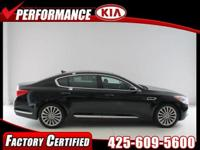 PREMIUM & KEY FEATURES ON THIS 2015 Kia K900 include;