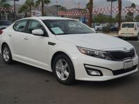 1 OWNER and CLEAN AUTOCHECK. Optima LX, 6-Speed