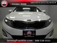 NEW ARRIVAL! THIS WHITE 2015 KIA OPTIMA EX IS A 100%