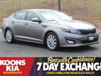 2015 Kia Optima EX Titanium Pearl Metallic **ONE