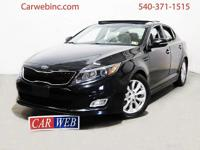 2015 Kia Optima has a CLEAN CARFAX w/ONE OWNER!