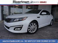 Lifetime warranty included on this 2015 kia optima ex