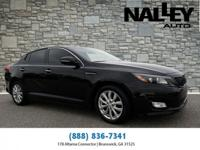 Ebony Black 2015 Kia Optima EX FWD 6-Speed Automatic