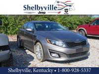 CARFAX One-Owner. Clean CARFAX. Gray 2015 Kia Optima EX