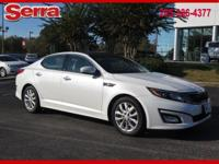 Snow White Pearl 2015 Kia Optima EX FWD 6-Speed