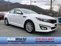CarFax 1-Owner, This 2015 Kia Optima EX will sell fast