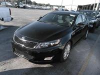 Black 2015 Kia Optima EX FWD 6-Speed Automatic with