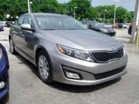 Options:  2015 Kia Optima Ex|Gray|17 Alloy Wheels|Front