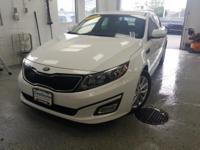 Recent Arrival! This 2015 Kia Optima EX in Snow White