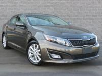 Certified. **CARFAX CERTIFIED, Leather, Optima EX,