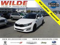 Options:  2015 Kia Optima Ex|Snow White Pearl/Gray|V4