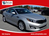 2015 Kia Optima EX Bright Silver CarFax 1 Owner, Clean